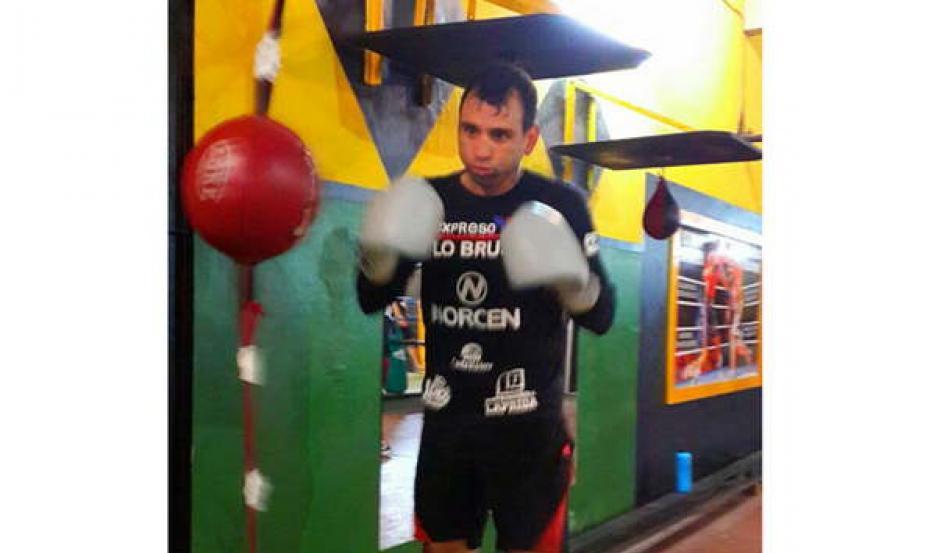 REGRESO. Diego Díaz Gallardo preparó su regreso y el 16 de septiembre volverá al ring de manera oficial.