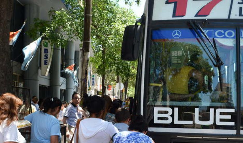 TRANSPORTE. En Santiago del Estero, el funcionamiento del servicio  de colectivos será normal durante toda la jornada en todo el territorio.