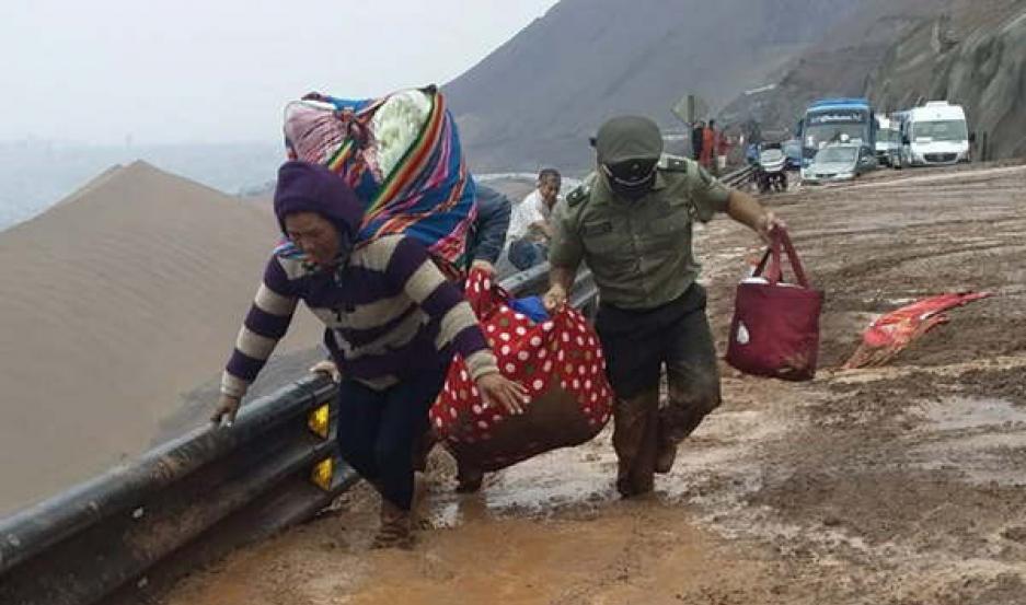 DRAMÁTICO. Hay más de 300 afectados, gran parte evacuados.