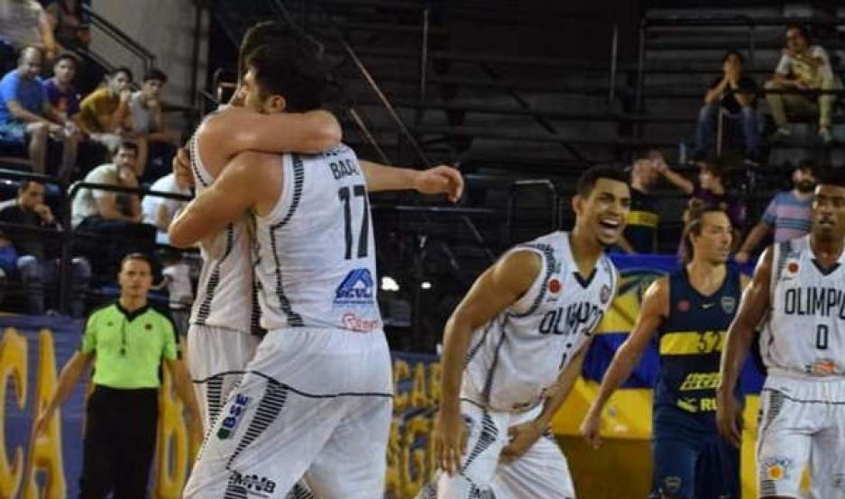 DESTACADO. Olímpico luchó hasta el final y terminó derrotando a Boca Basket como visitante.