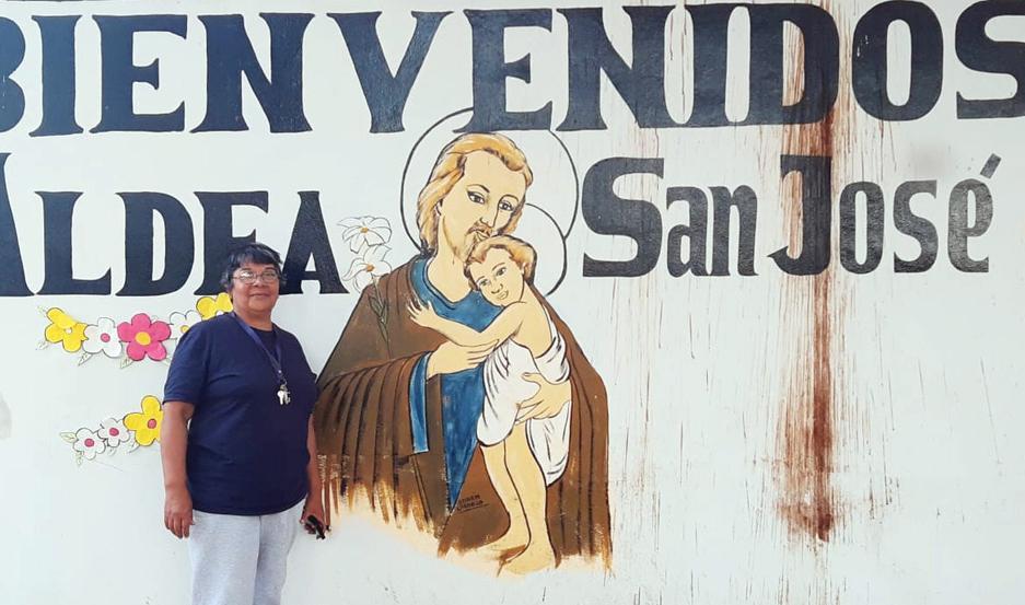 VOCACIÓN DE SERVICIO. Hermana Lucrecia Coordinadora de la Aldea de Ancianos San José de Loreto.