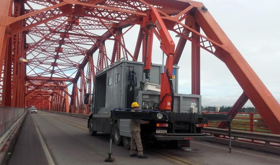 Realizarán tareas de mantenimiento en el Puente Carretero.